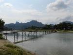 hier stieg vor ein paar Monate noch DIE Party von Laos...
