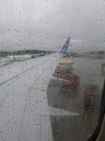 super Wetter bei der Ankunft...