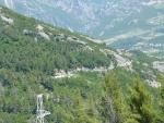 Auffahrt zum Pass kurz nach Tirana