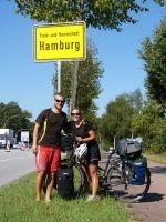 perfektes Wetter um in Hamburg einzufahren