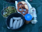 bayrische Brotzeit in Norddeutschland, leeeeecker :)
