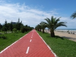 Promenade mi Fahrradweg!