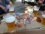 seeeehr lecker, nicht nur das Bier :)