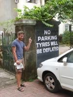 mal eine andere Art der Bestrafung fuer Falschparken :)